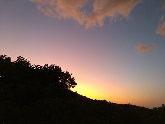 Sonnenuntergang Résidence L'Incantu