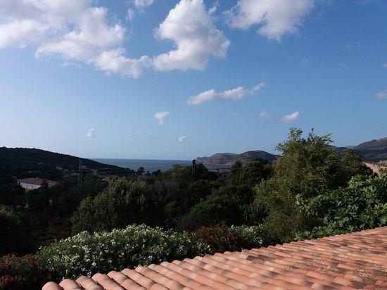 Ausblick vom Balkon des Studios