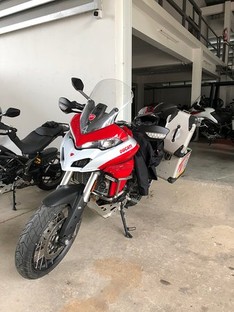 DART Asia: Multistrada 950 with Touratech pack