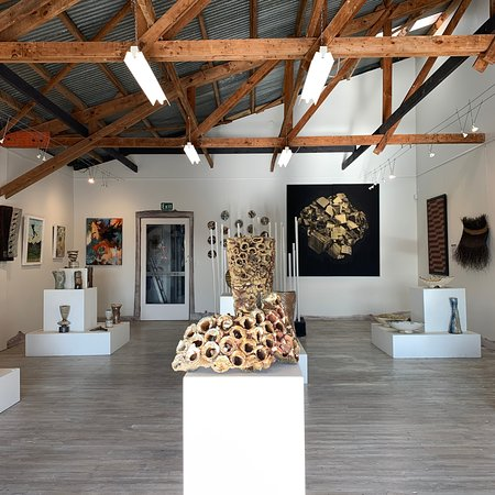 Nelson, New Zealand: Inside the gallery.