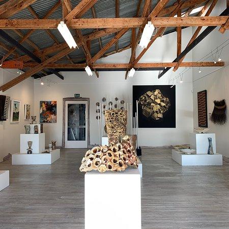 Nelson, Nueva Zelanda: Inside the gallery.