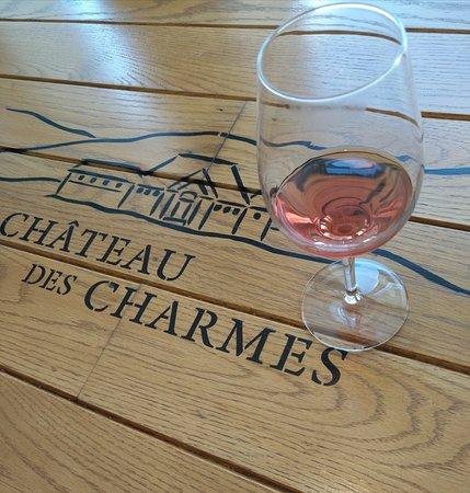 Excellent rosé wine.
