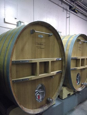 Huge wine barrels!
