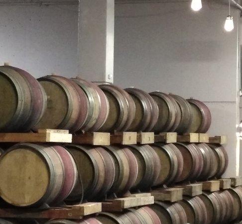 More wine barrels!