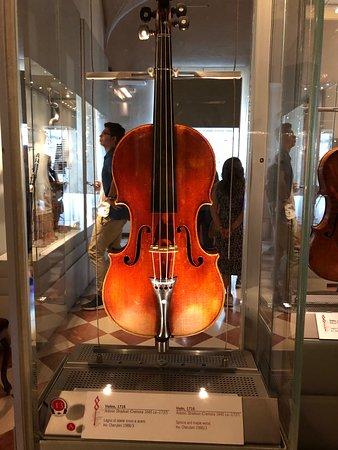 Musical instruments by Stradivari,
