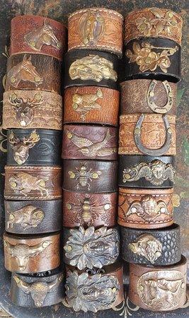 Custom Leather Cuffs