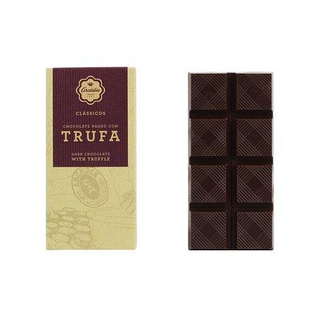 Tablete de Chocolate Negro c/ Trufa - Arcádia