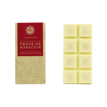 Tablete de Chocolate Branco c/ Trufa de Maracujá - Arcádia