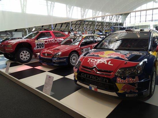 Brusel Autoworld - výstava u příležitosti 100let založení Citroenu - TOP