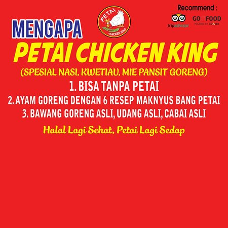 mengapa petai chicken king