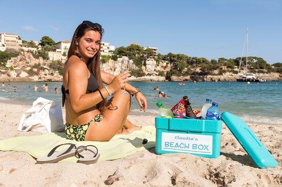 Claudia's Beach-Box – den Inhalt können Sie selbst zusammenstellen