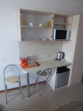 Irkut Hotel: microwave, fridge and more
