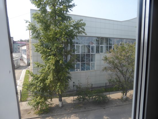 Irkut Hotel: view from room