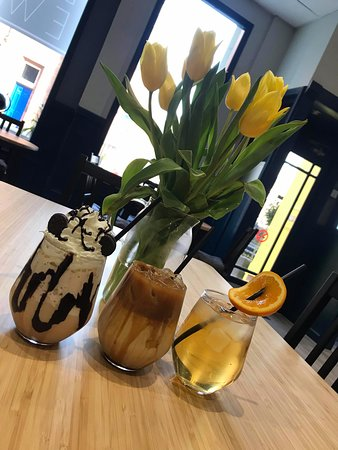 A selection of our most popular chilled drinks