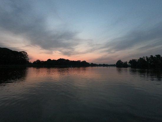 Sunset sup Zeeuws-Vlaanderen
