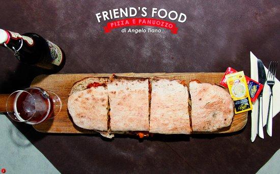 Friend'S Food: 🍔 Da Friend's Food un mondo di #panuozzi… 🍔  ➡ Per una serata ricca di #sapore 🤤 vieni a comporre il tuo fantastico #panuozzo con tutti gli #ingredienti che desideri 🤩 e dopo gustalo insieme ai tuoi #amici! 👍