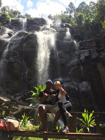 Waterfalls with Khasim