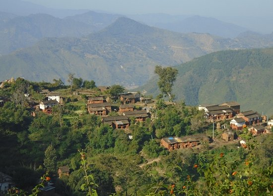 Дальне-Западный регион, Непал: Traditional village in Seti River valley, Far West Nepal