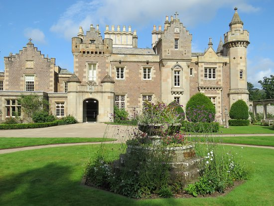 A little faux but that's the Scottish Baronial style for you