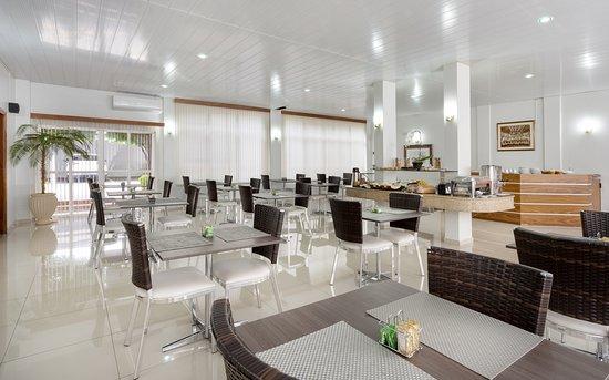 Salão de café, refeitório, café da manhã