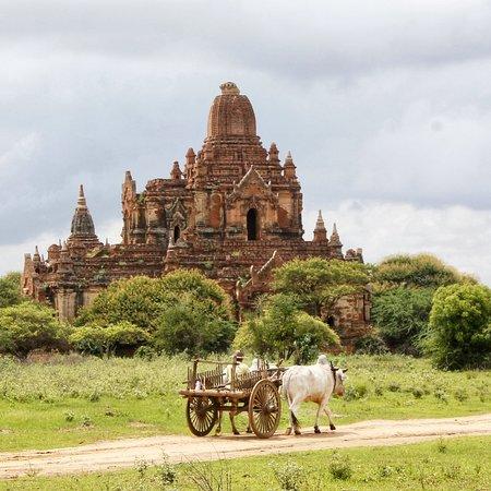 somewhere in Bagan