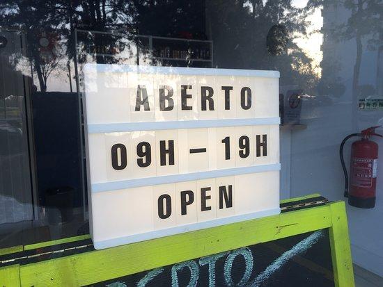 Open today,...