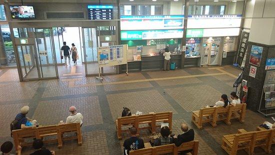 Kure Shuo Dock Terminal: 1階の待合室