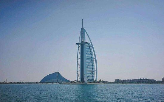 Dubai Luxusyacht Sightseeing: Burj Al Arab