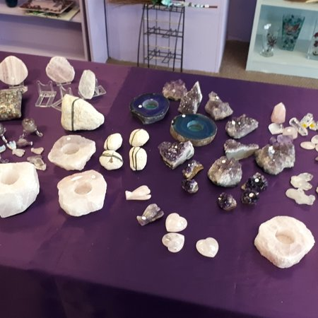 A treasure trove of crystals, jewellery and unique gifts waiting in store for you today.   Pop by and say hello.