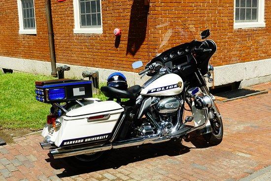 Boston août 2019 Police du Campus de Harvard