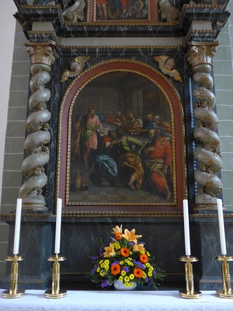 Soest, St. Patrokli, Empire style altar (detail)