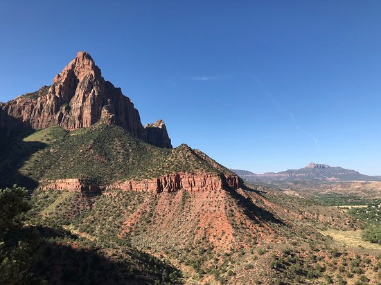 Watchman Trail: From the overlook!