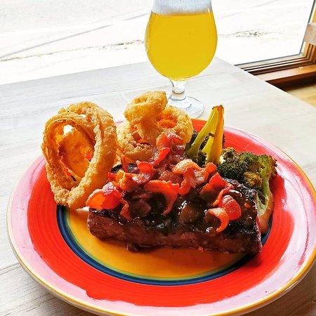 Bowdoinham, ME: flank steak special