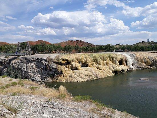 Hot Springs State Park: Rainbow Terrace