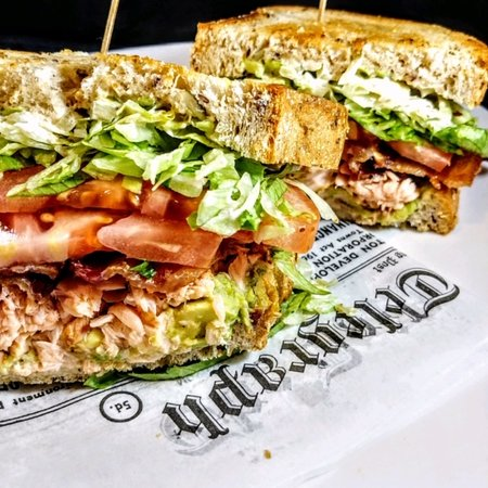 This Week's Fresh Catch is in house Smoked Salmon BLT!  Catch yours Today!