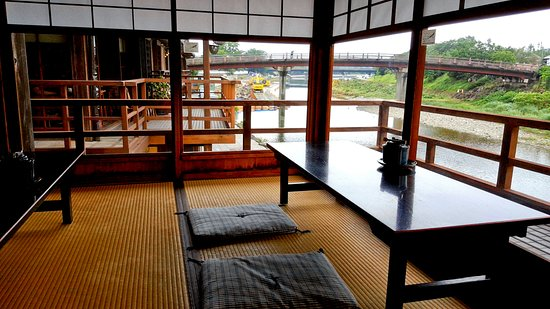 Isuzugawa Cafe : 日式塌塌米座位區特寫