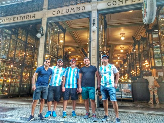 Rio by foot - Free Walking Tour: Confiteria Colombo