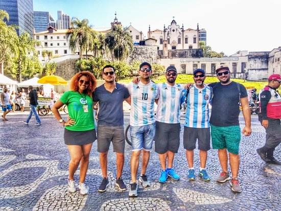 Rio by foot - Free Walking Tour: Plaza Carioca