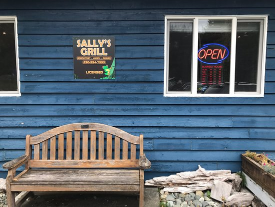 Sally's grill on the waterfront