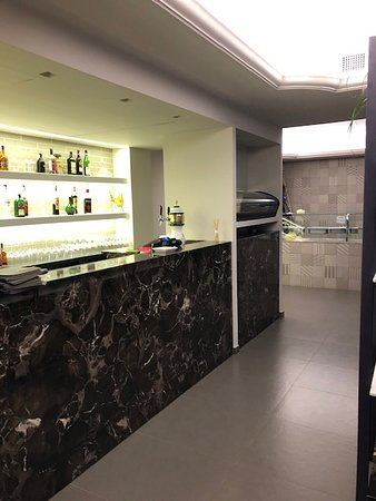View of bar and interior
