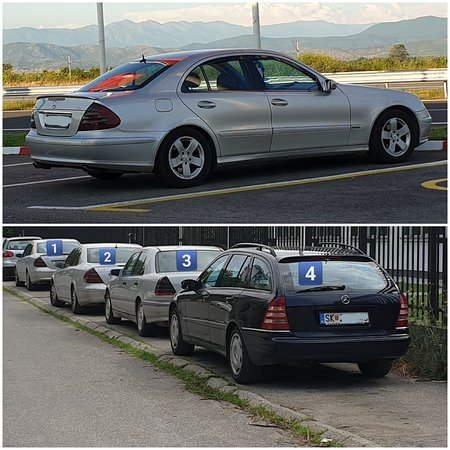 Regio Skopje, Republiek Macedonië: Taxi skopje solun sofija