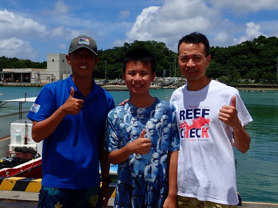 Hiro-san, our diving instructor