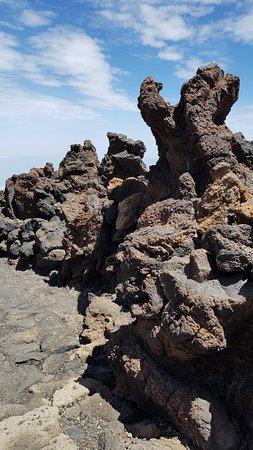 Подъём на вулкан Тейде на фуникулёре Teleferico del Teide, 27.08.2019