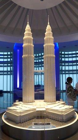 Petronas Twin Towers, all'interno della piattaforma di osservazione
