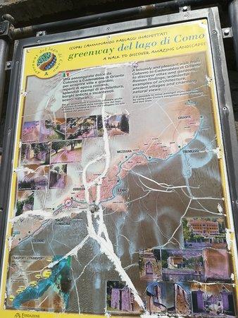 Il percorso  della Greenway