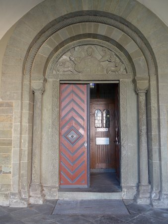 Soest, St. Patrokli church, Paradise portal