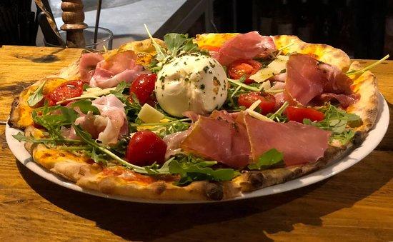Le Will Ramatuelle: La pizza Burrata... Top 👍