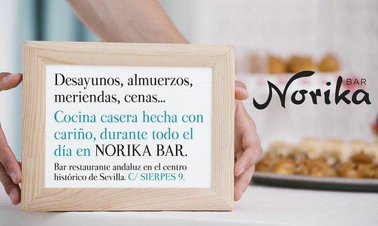 A cualquier hora del día, estamos encantados de recibirte para deleitarte con nuestros dulces, raciones, brunch, sandwiches... elige tu momento favorito! Bienvenid@ a Norika! 😋🥪🍻