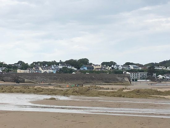 Saundersfoot Beach صورة فوتوغرافية
