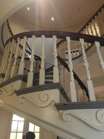 Spiral Staircase Within Old State House
